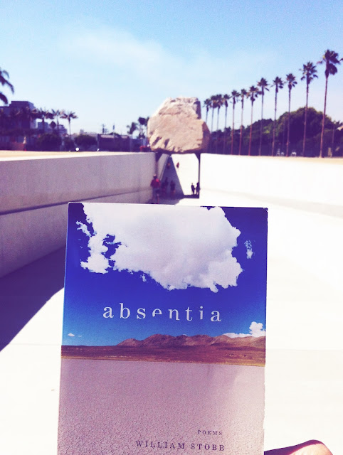 Michael Heizer's LEVITATED MASS and William Stobb's ABSENTIA